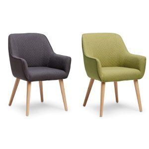 Peel stol med kryss og skammel Kontor & Interiør Nettbutikk